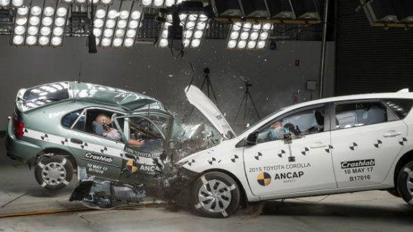 تفاوت بود و نبود ایربگ در تصادفات رانندگی [تماشا کنید]