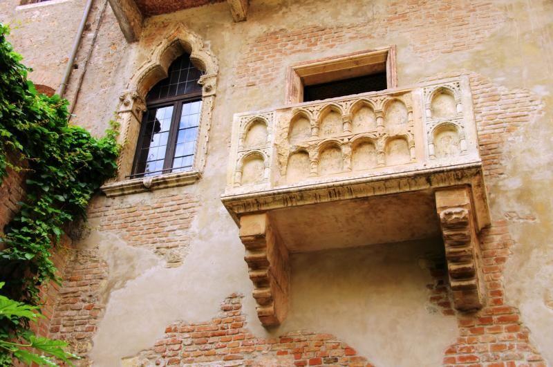 Il balcone di Romeo e Giulietta Romeo e giulietta