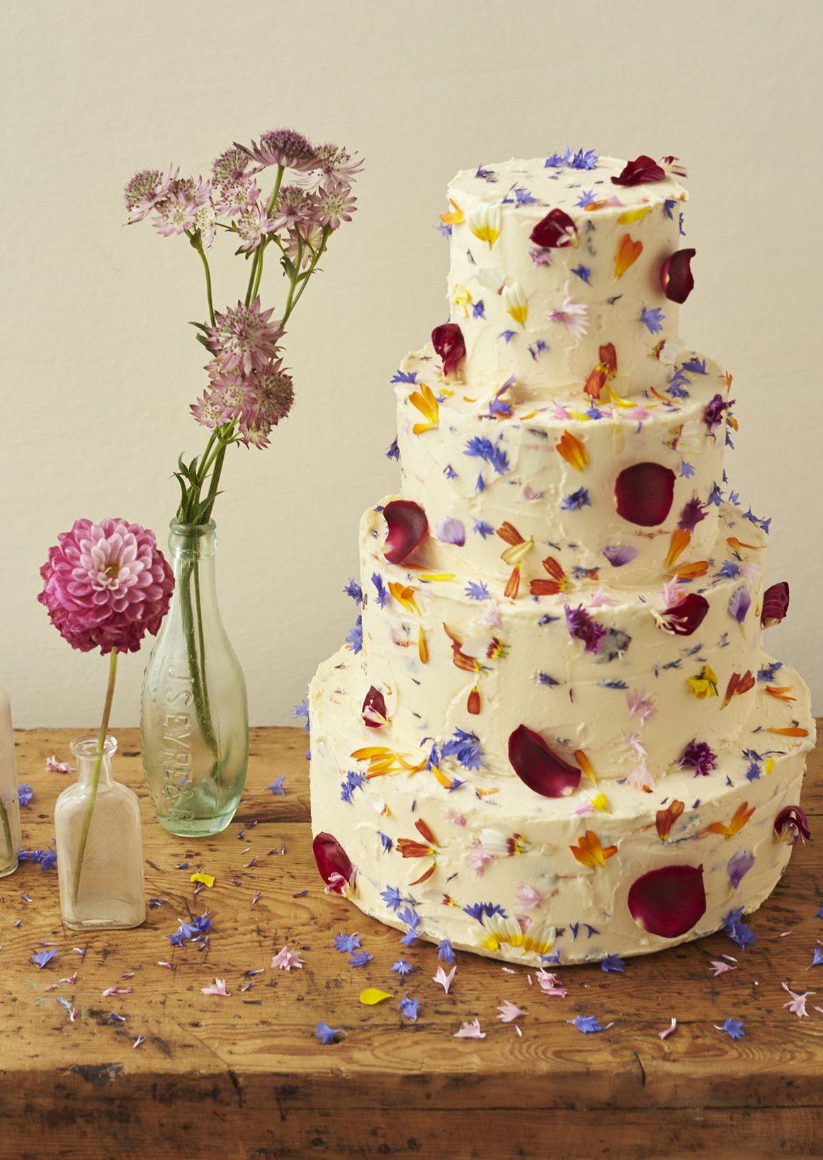 Edible flowers for wedding cakes essbare blumen kuchen
