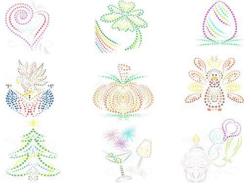 Mondays New design release is now available. Polka Dot Holiday artwork design is at www.snugglebugartdesign.com