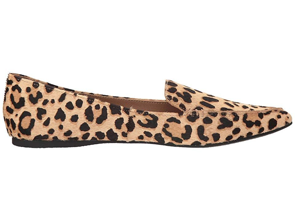 16f46c10cbff Steve Madden Featherl Loafer Flat Women's Flat Shoes Leopard in 2019 ...