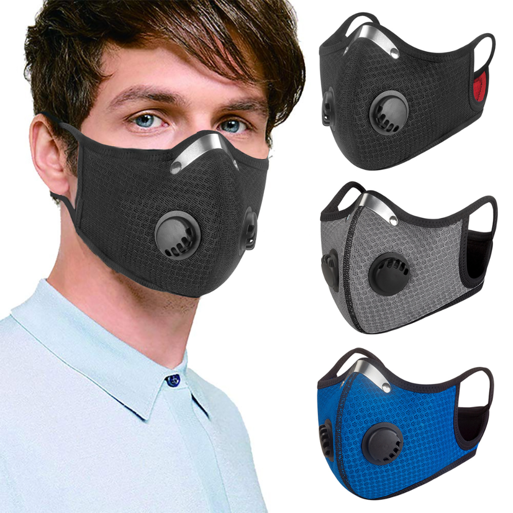 Washable, Reusable Outdoor Sports Mask with Respirators