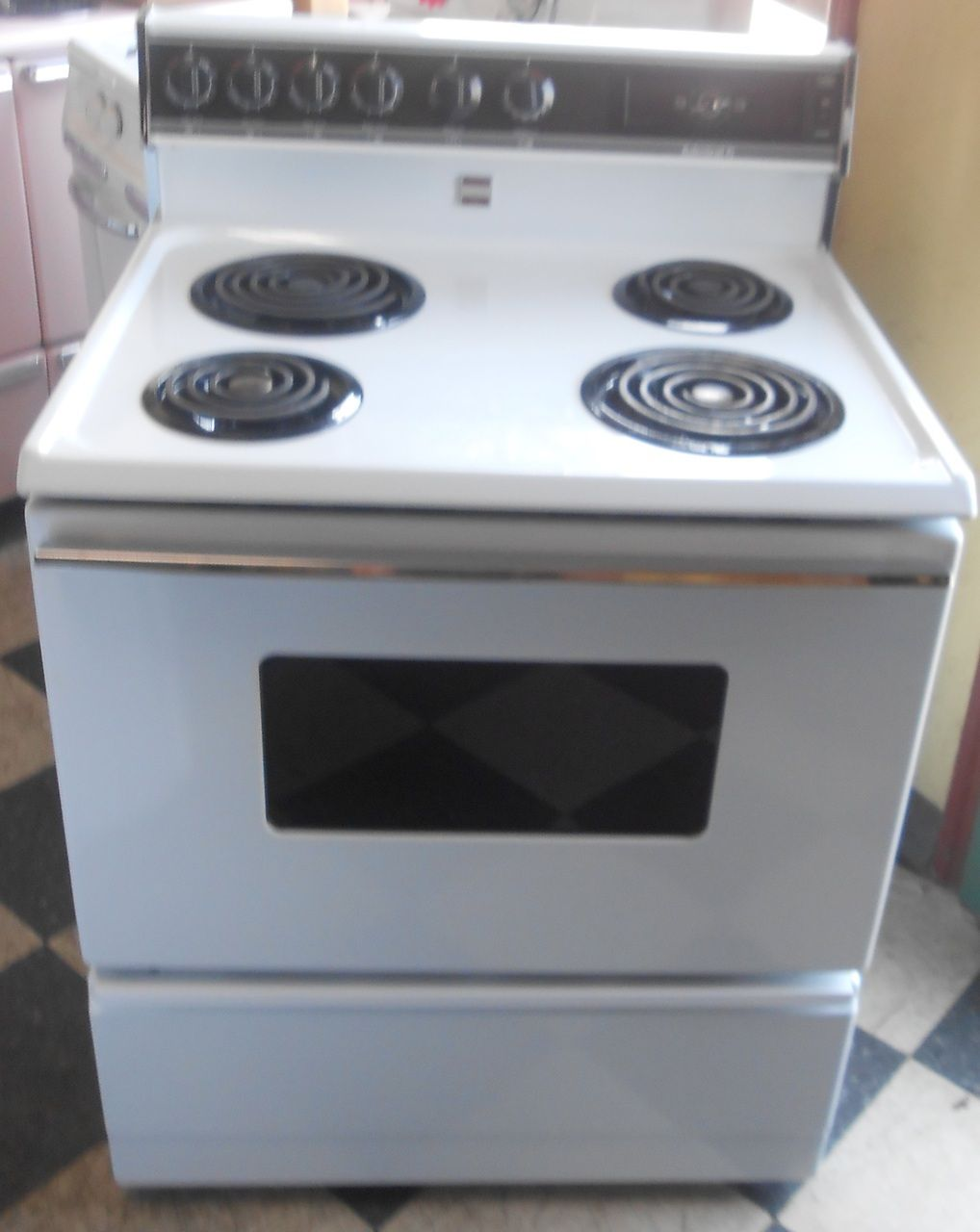 Appliance City - ADMIRAL ELECTRIC RANGE WHITE , $250.00 (http://www ...