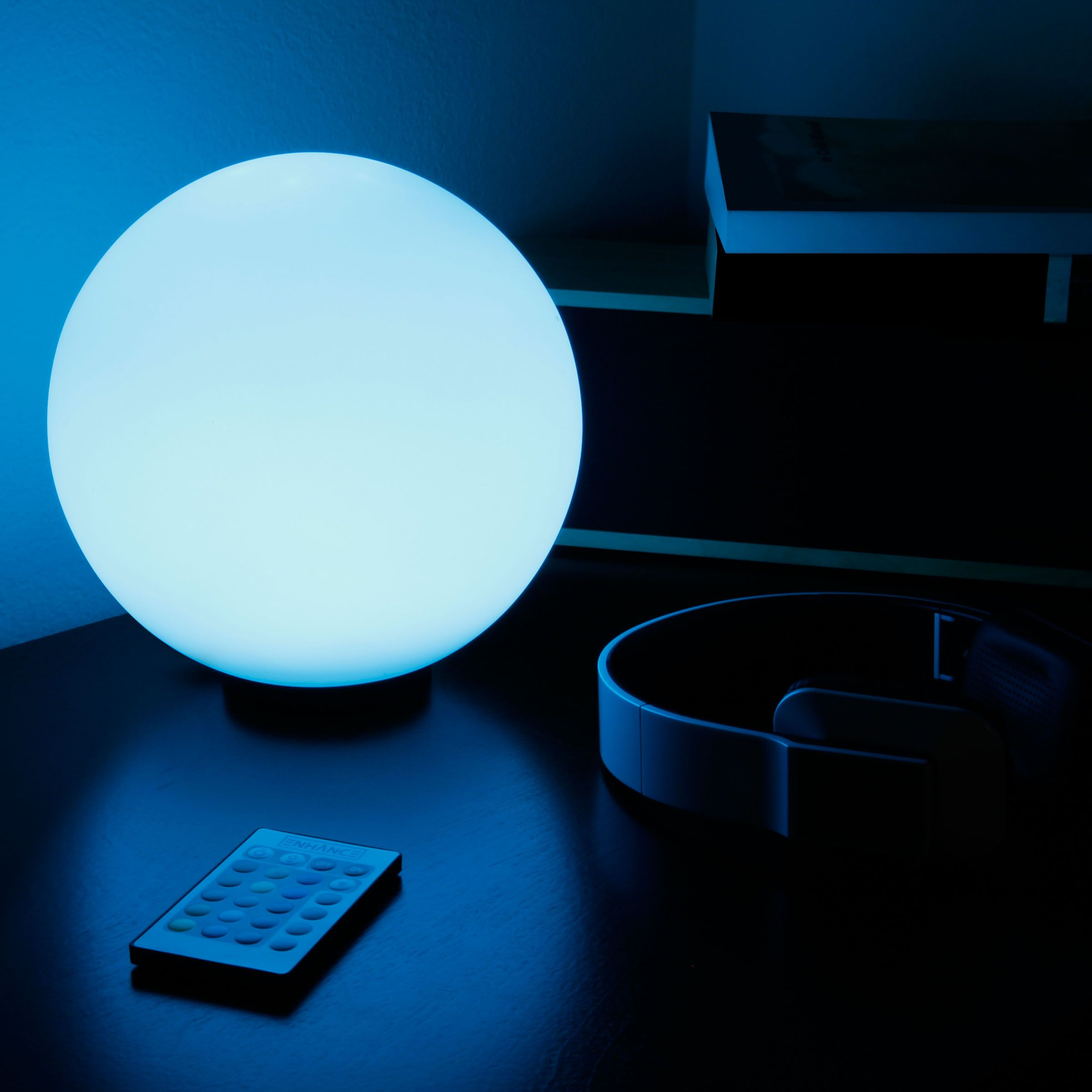 Childrens colour changing lights - Children S Led Color Changing Mood Lamp Night Light With Wireless Remote Control 4 Lighting Modes Battery Or Ac Adapter Power By Enhance Perfect For