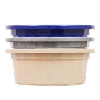Heavy-Duty Plastic Pet Bowl