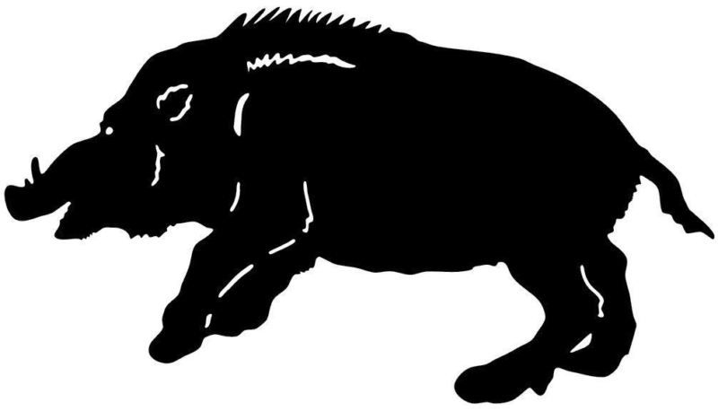 Wild Hog Decal MD Boar Hunting Truck Window Sticker Hunting Truck - Hunting decals for trucksonestate rack attack truck van window vinyl decal sticker