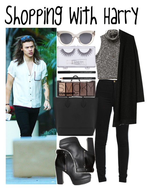 """""""Shopping with Harry"""" by heaven-139 ❤ liked on Polyvore featuring Boohoo, Forever 21, MANGO, H&M, Mulberry, Sonia Kashuk, CÉLINE, Vero Moda, women's clothing and women's fashion"""