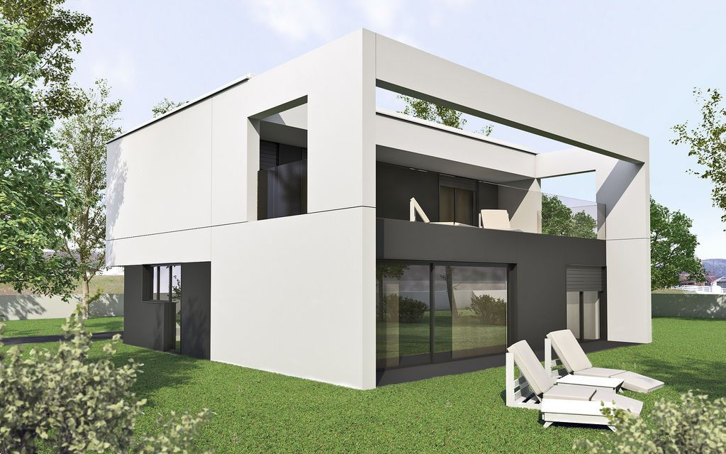 maison prefabrique en beton ventana blog. Black Bedroom Furniture Sets. Home Design Ideas