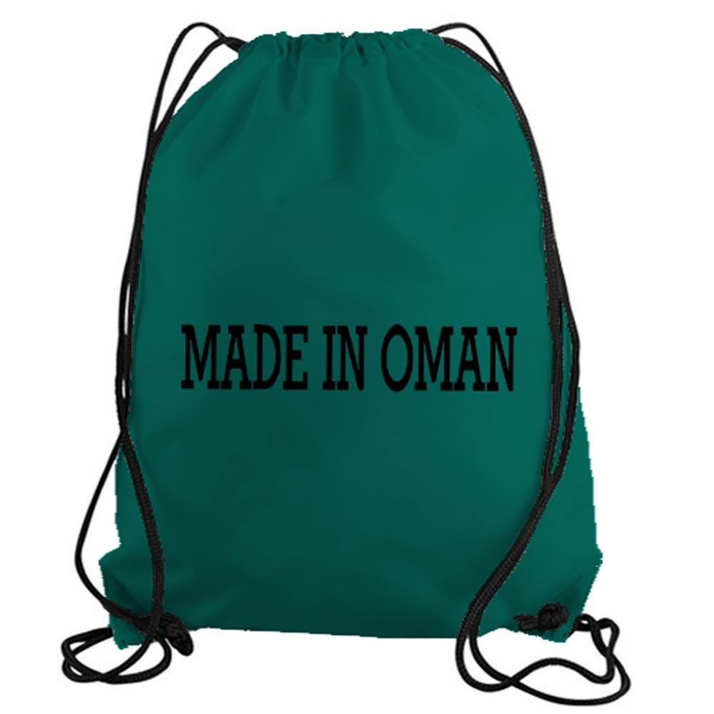 529edacc1c41 Made in Oman Drawstring Gym Bag Tote | Vinyl Decal Stickers | Bags ...