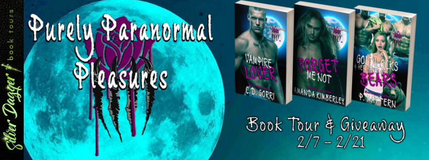 Photo of Purely Paranormal Pleasures by @cgor22, @KimberleyLB, & @fressenda | Book Tour and $10 Amazon GC / Signed Postcard #Giveaway | #ParanormalRomance