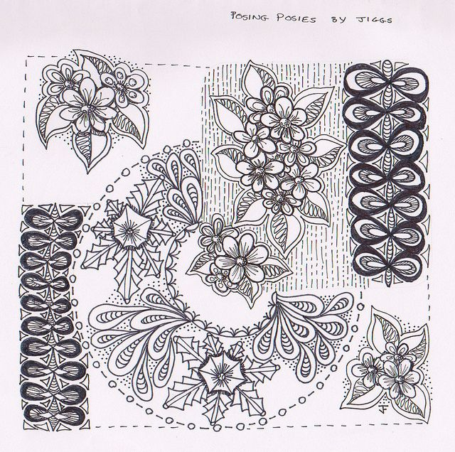 Posing posies zentangle zentangle zentangle squares recent photos the commons getty collection galleries world map app gumiabroncs Images