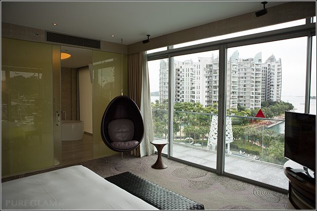 Beautiful marvelous suite at the W Singapore Hotel - Sentosa Cove - Starwood SPG Hotel, Asia