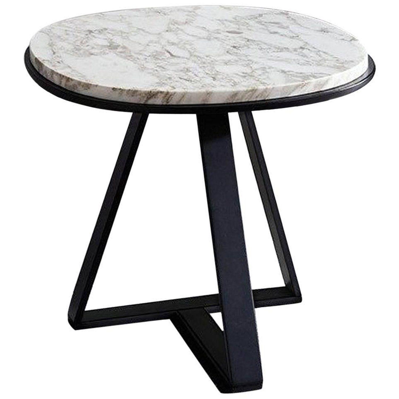 Meridiani Judd Marble Round Side Table Side Table Vintage Side Table Marble Side Table Round [ jpg ]