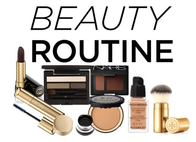 """""""Your Fall Beauty Routine"""" by rebelmix ❤ liked on Polyvore featuring beauty, Givenchy, Too Faced Cosmetics, Gucci, Tory Burch, Clé de Peau Beauté, Guerlain, Stila and NARS Cosmetics"""