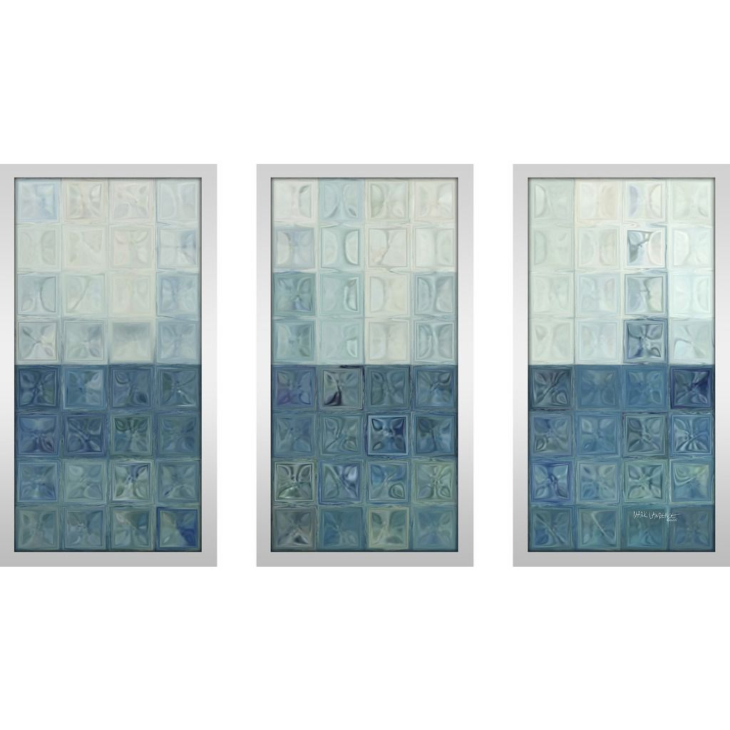 This Wall Art Set of 3 is printed on Plexiglass using a high-speed ...