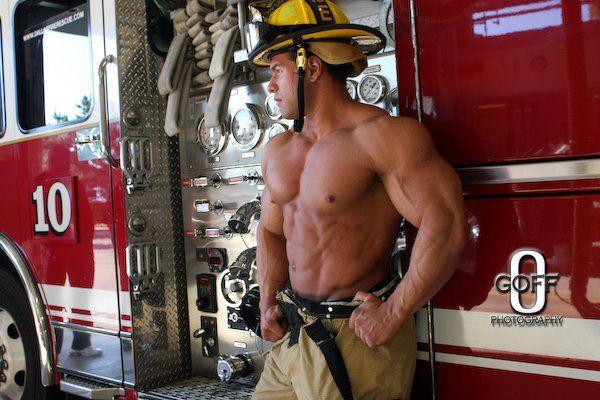 Truck 10   Hot firefighters, Men in uniform, Best bodybuilder