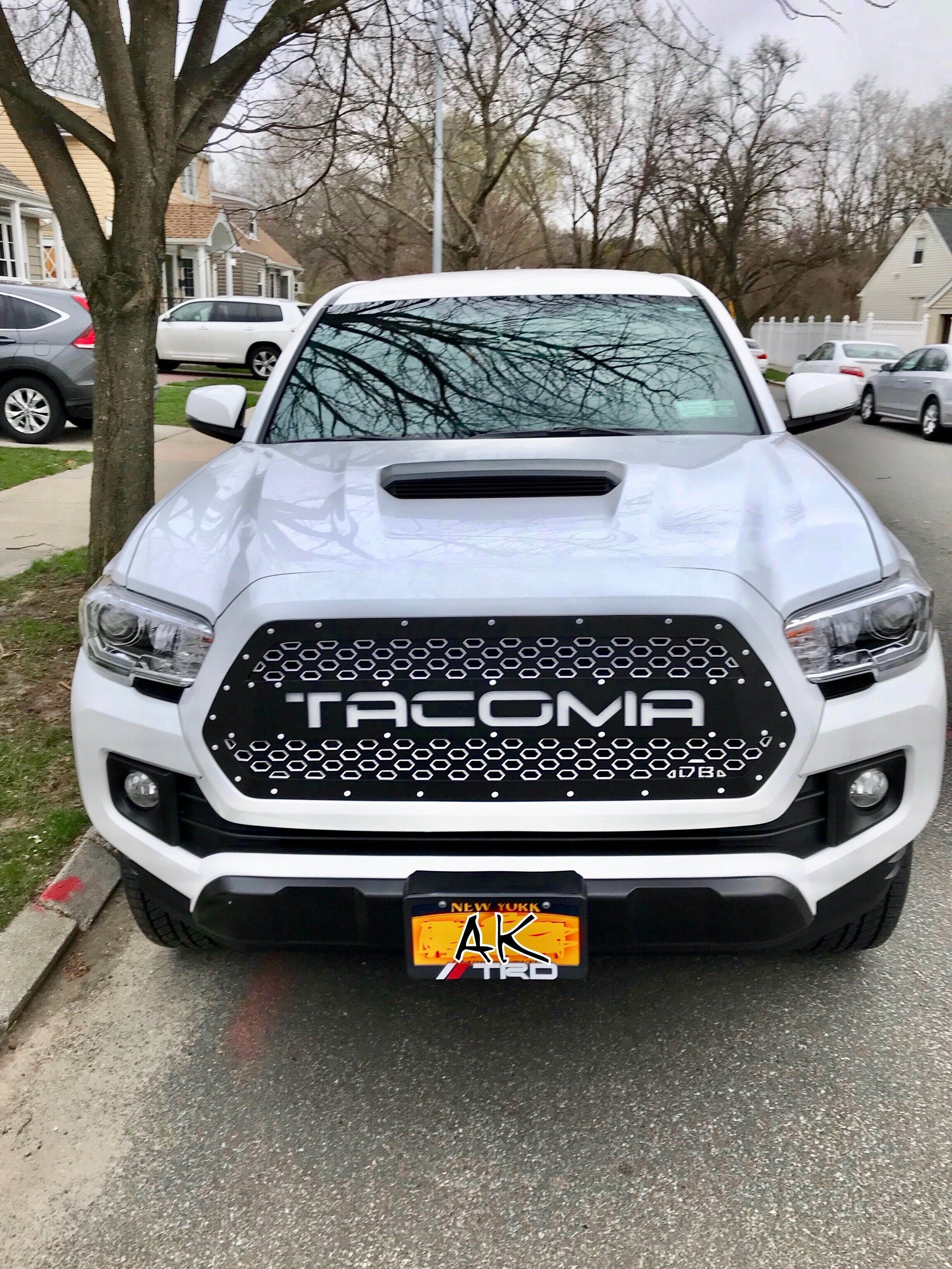2016 Tacoma X2 Series Drop In Grille Insert Db Customz Grille