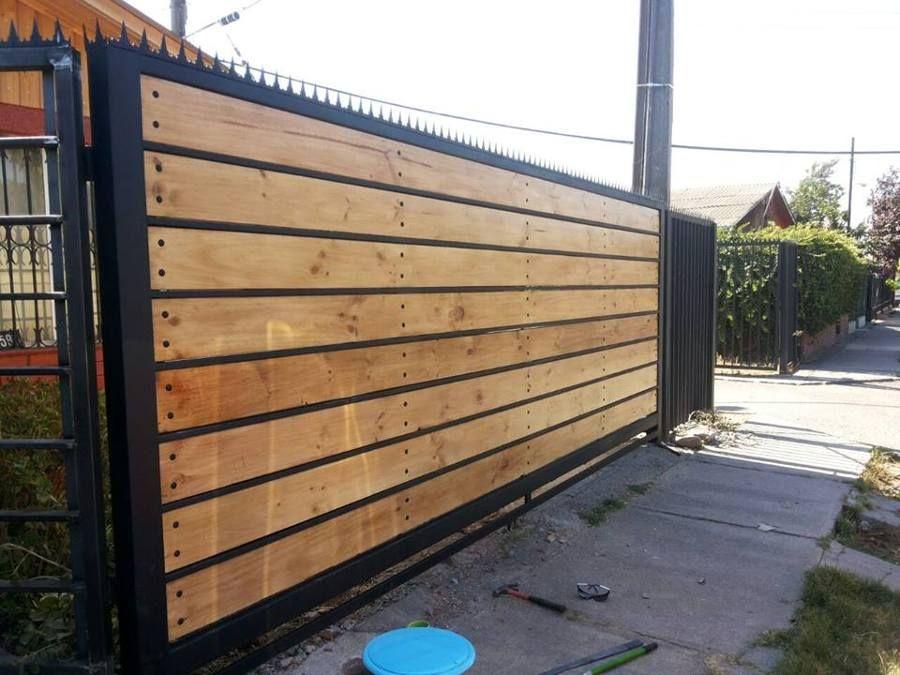 Resultado de imagen para rejas de fierro y madera for Rejas de madera