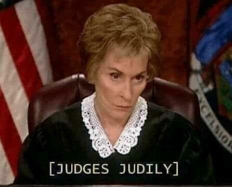 Image result for judges judily