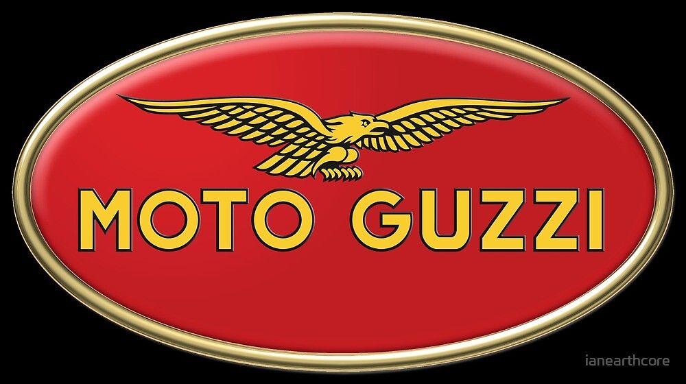 Classic Guzzi Logo By Ianearthcore Redbubble Moto Guzzi Moto Guzzi Motorcycles Motorcycle Logo