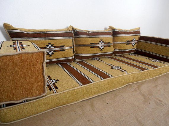 Sofa Floor Couch Oriental Seating Arabic Style Majlis Set Bo