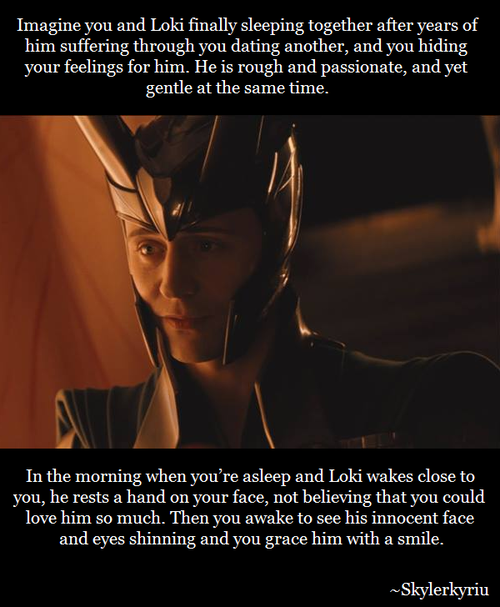 In a hope that this would someday happen | Tom Hiddleston | Loki