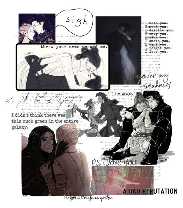 """""""Reylo Art"""" by rouge-winter-solider ❤ liked on Polyvore featuring art and brookesartsets"""