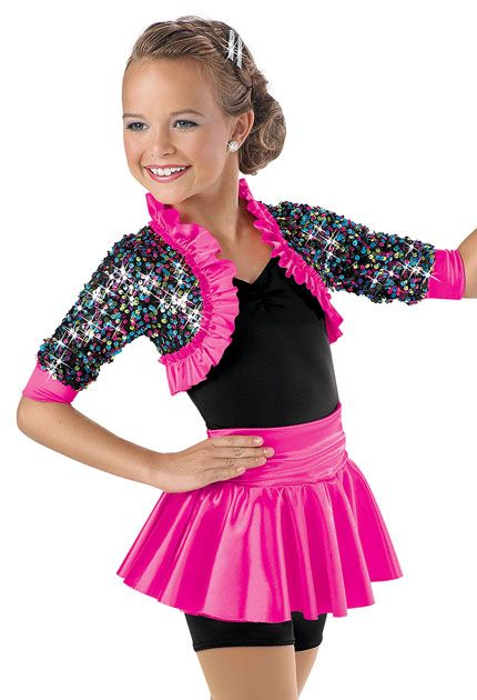 f71a2f4dd Sequin Shrug Peplum Biketard -Weissman Costumes(my new philosophy ...
