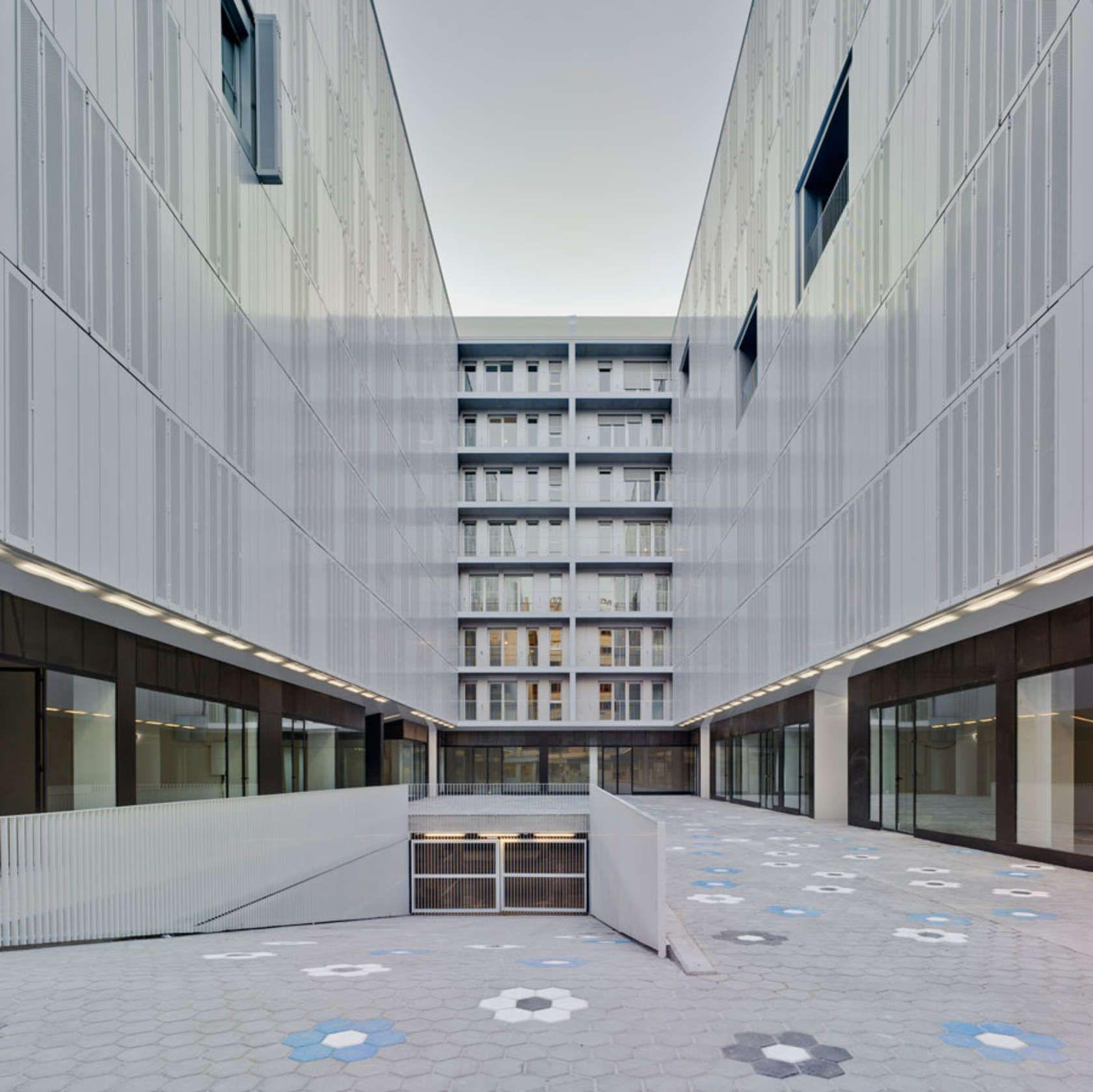 Firm estudio de arquitectura naos project residential for Estudio arquitectura murcia