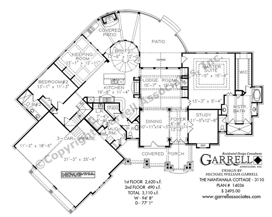 Nantahala cottage house plan house plans Nantahala house plan