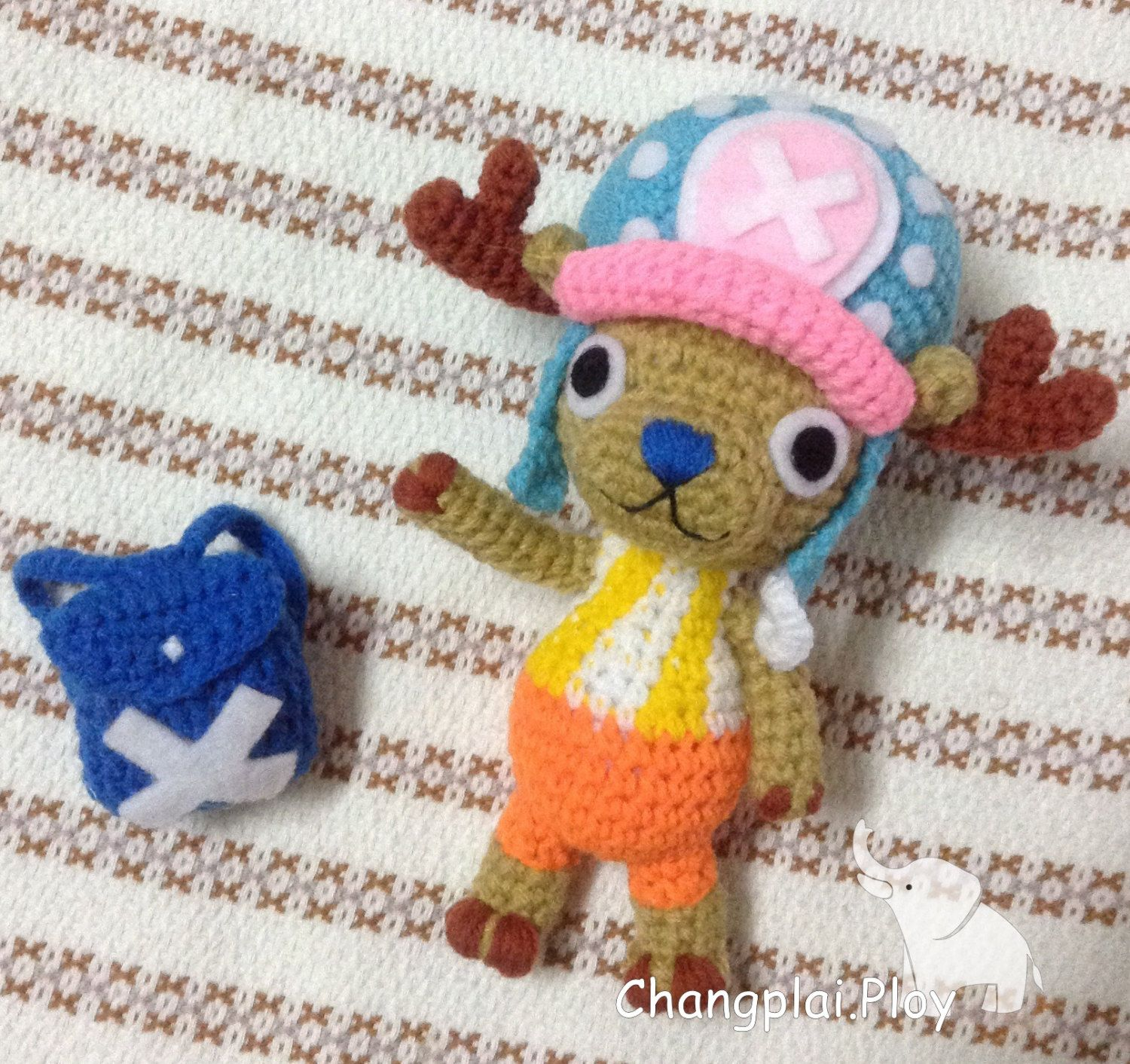 PATTERN - Tony Tony Chopper - amigurumi japaness pattern! by ...