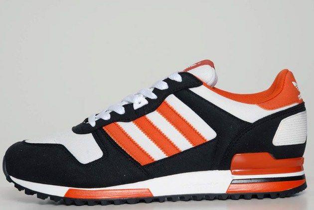 Adidas Originals Zx 700 White Black Craft Orange Adidas Runners Adidas Adidas Originals