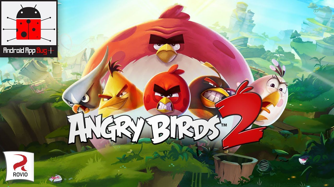 Angry Bird 2 Android iOS Gameplay HD 1080p Angry birds