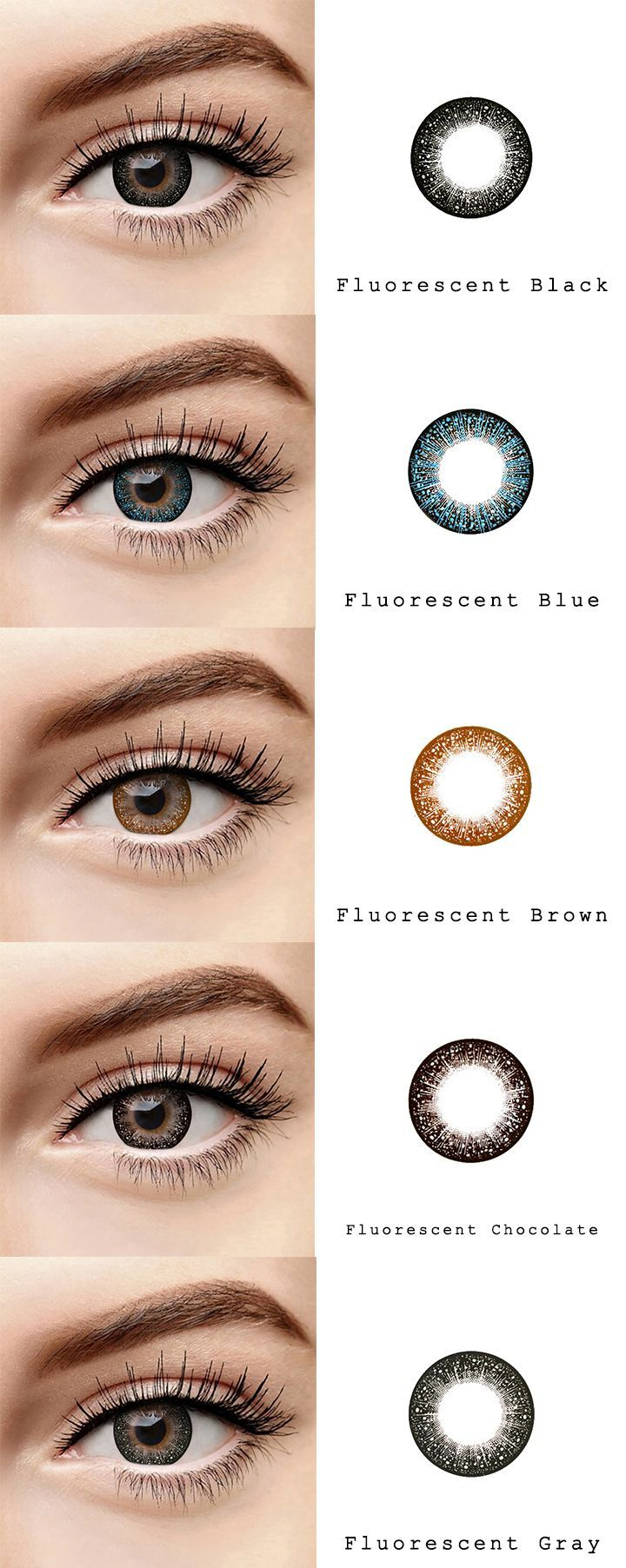 Microeyelenses Com Onlineshop Fur Farbige Kontaktlinsen Fluoreszierende Serie Schwarz Bla Contact Lenses Online Contact Lenses Colored Brown Contact Lenses