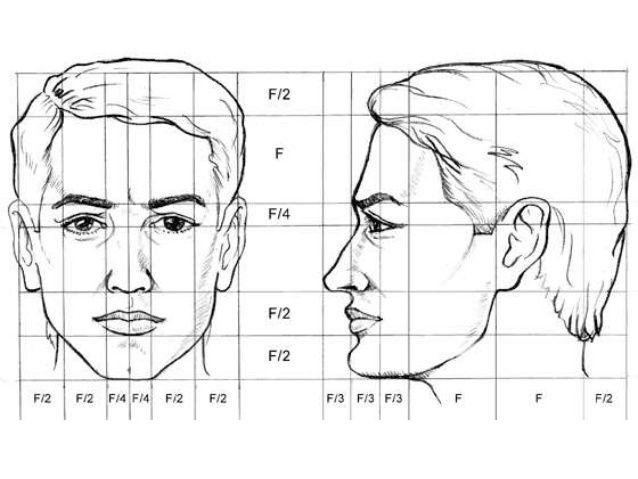 dibujo de caras manos y pies escorzo de la figura humana
