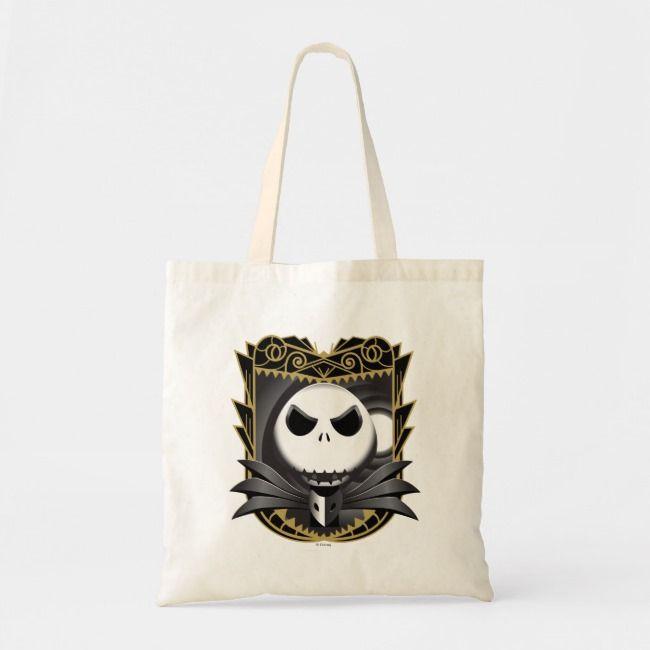 Personalized Trick or Treat bag Jack Bag halloween bag Jack Skellington Halloween Nightmare Before Christmas Bag,Custom Bag Candy bag