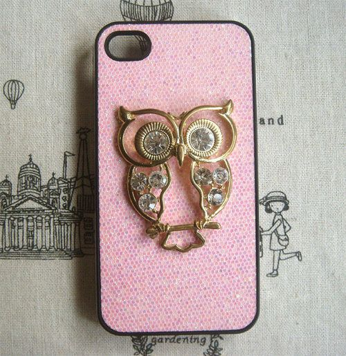 Owl phone case ! Now, for the phone part... lol
