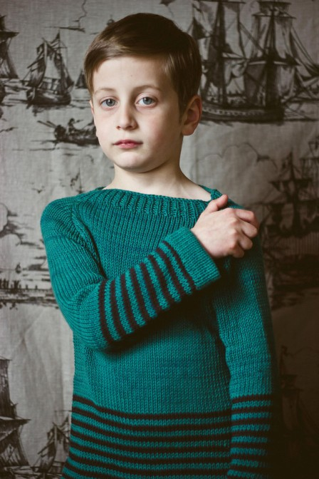 Knitting Groups Glasgow : Stripey pullover sweater by toto knits hand knit to order