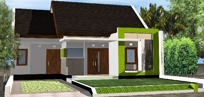 Simple Minimalist Houses Type 36 Minimalist Home Design Ideas
