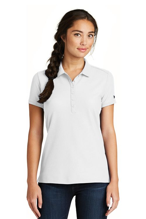 New Era LNEA300 Ladies Venue Home Plate Polo from NYFifth