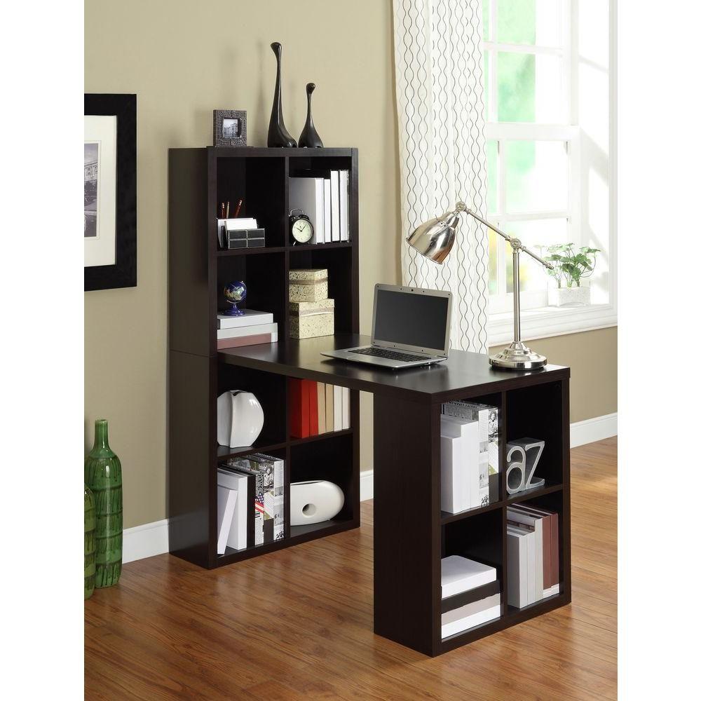 Altra furniture london 2in1 piece espresso office suite