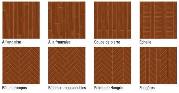 quel sens de pose et quel type de pose de parquet choisir 2 ebenisterie pinterest. Black Bedroom Furniture Sets. Home Design Ideas