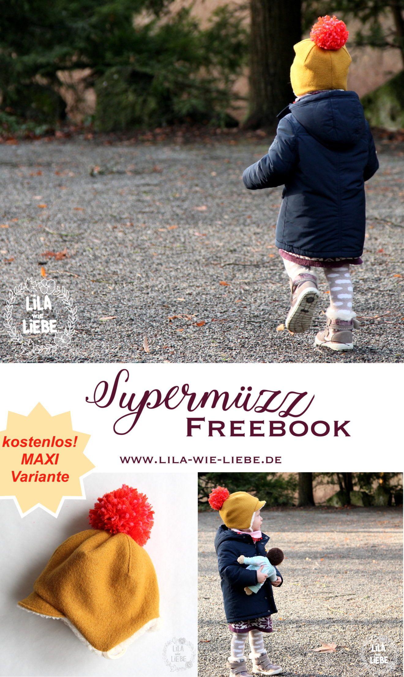 Photo of Supermüzz – Wintermütze für Kinder …MAXI Variante – Lila wie Liebe