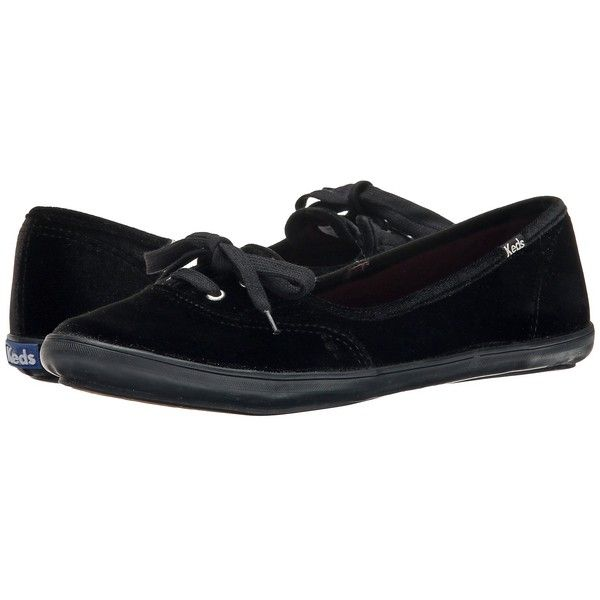 8e078415ac Keds Teacup Velvet Women's Flat Shoes ($55) ❤ liked on Polyvore featuring  shoes, flats, velvet shoes, dressy shoes, flat lace-up shoes, flat heel  shoes and ...