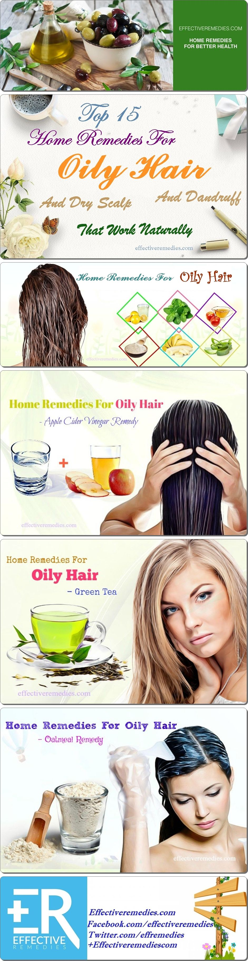 Top 17 Home Remedies For Oily Hair Dry Scalp & Dandruff ...