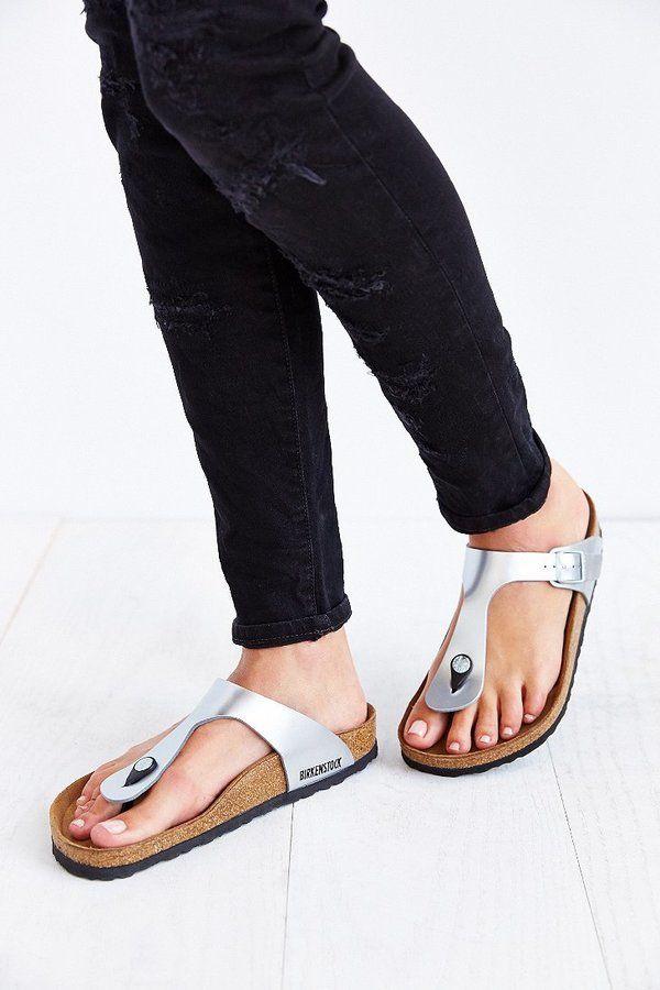 208e80350d6 Birkenstock Gizeh Thong Sandal~ House Shoes Birkenstock Sandals Outfit