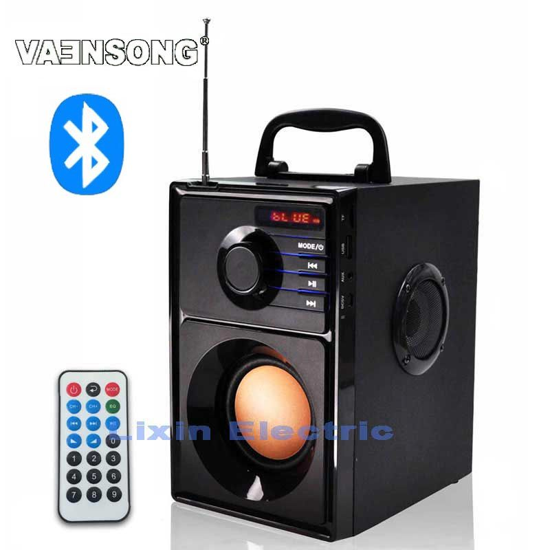 Click To Buy Vaensong A10 2 1 Subwoofer Stereo Wireless Bluetooth Speaker Portable 2 1 Speakers Fm Radio Tf Ca Altavoces Bluetooth Altavoces Bluetooth