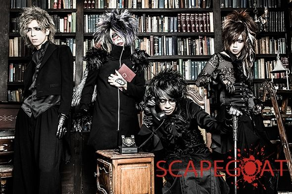 Wow, such hotties! SCAPEGOAT's new look! Before and after makeover.