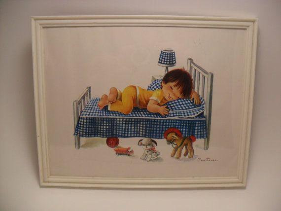 Constanza Nursery Art Print Denmark by TheRetroRemedy on Etsy, $20.00