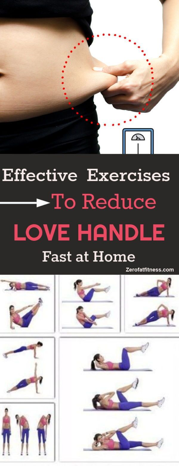 How to Get Rid of Love Handles and Side Fat: 7 Easy Workouts at Home